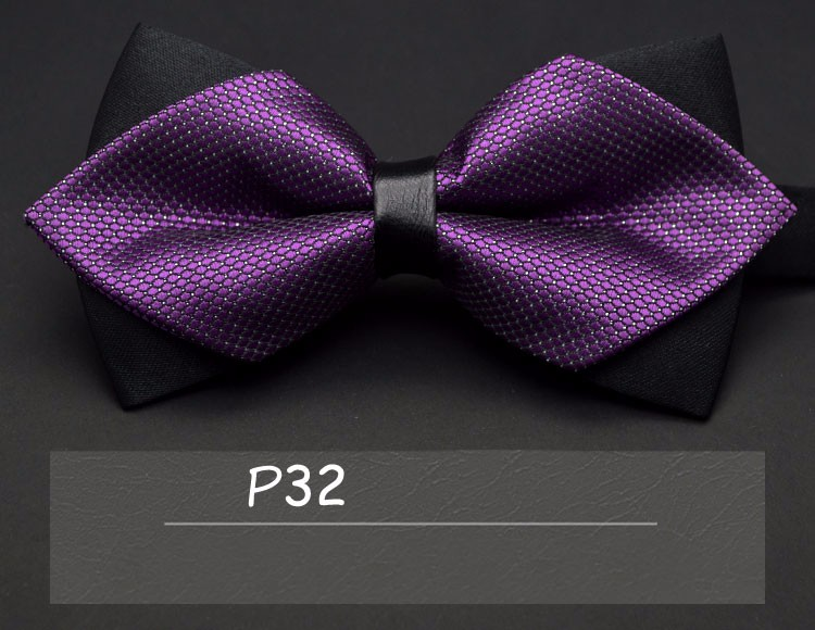 2016 high-grade newest butterfly knot men's accessories bow tie black red cravat formal commercial suit wedding ceremony