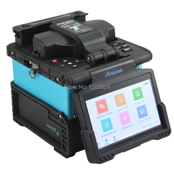 High Quality 7S Fast Splicing SAT-17T Optical Fiber Fusion Splicer Splicing Machine Optical Fusion Splicer фото
