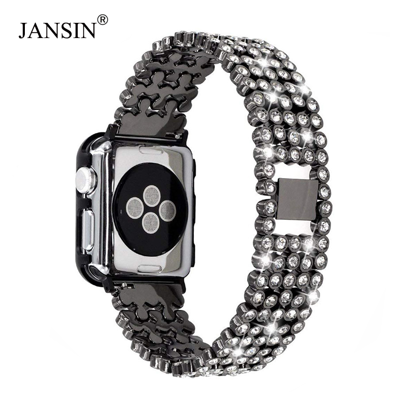 women Diamond band For Apple Watch Bands 38mm 42mm 40mm