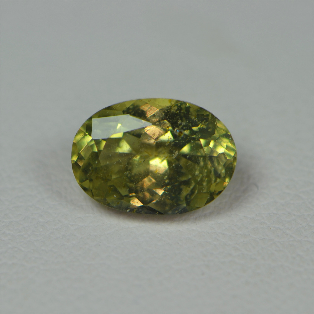CGJ certification 2.18 no Indication Of Thermal Enhancement Natural unheated Yellowish Green Sapphire Stone Loose Gemstones все цены