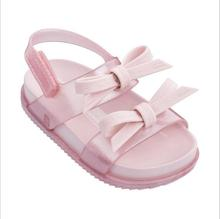 2019 Summer Girls Shoes Mini Shoes Girls bowtie Sandals Jelly Shoe Girl Non-slip Kid Sandal Toddler baby soft fashion sandals
