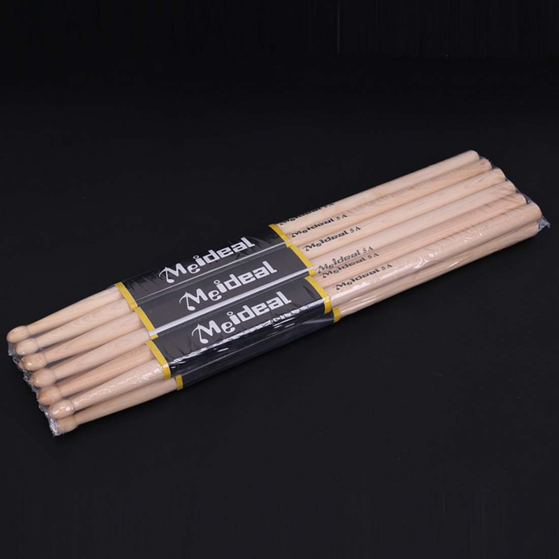 Hot 1Pair Professional North American Maple Wood Drum Sticks 5A Drumsticks Musical Instruments Drum Sticks Drum Accessories