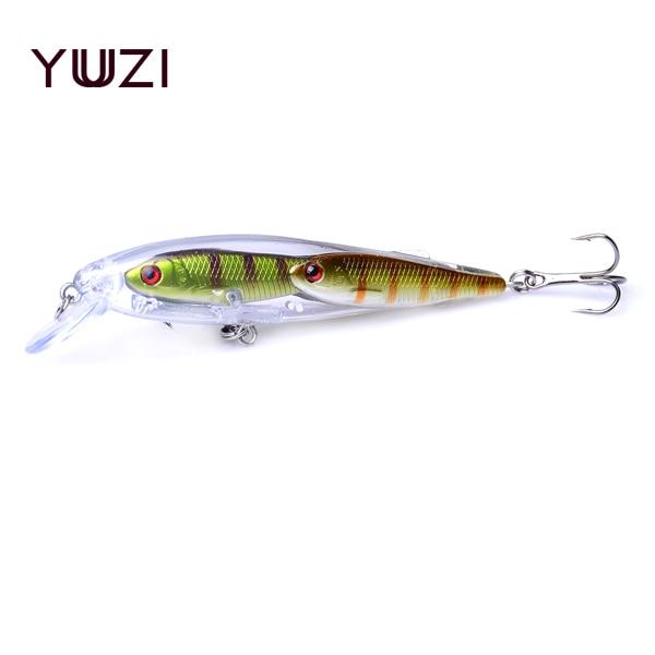 YUZI 1PCS 9cm 10g 다중 배추 피쉬 낚시 미끼 그룹 미끼 - 어업