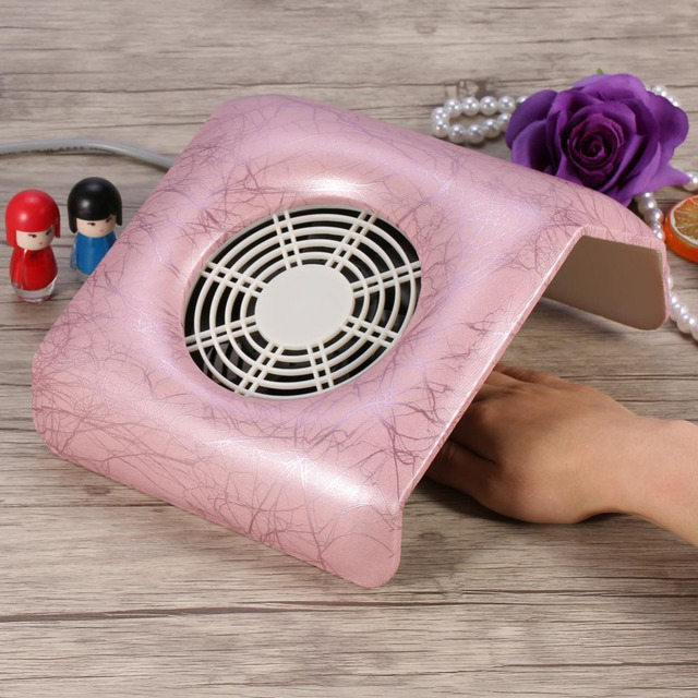 Pro Fan Blower Nail Dust Suction Collector Curing Gel Nail Polish ...