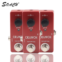 SOACH high Quality Crunch Distortion Electric Guitar Effect Pedal Guitar Parts & accessories