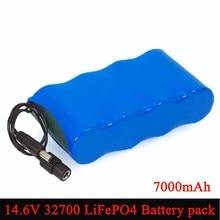 Varicore 14.6v 10v 32700 LiFePO4バッテリーパック7000mah高パワー放電25A最大35A電気ドリル用掃除電池