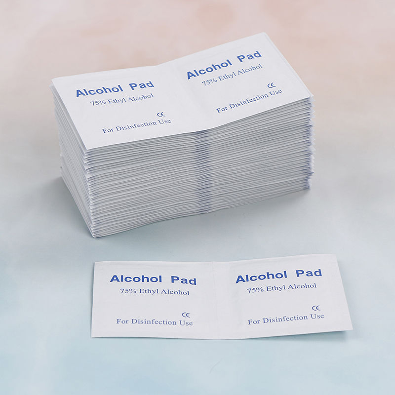 US $2 52 21% OFF|100pcs/Box Alcohol Swabs Pads Wipes Antiseptic Cleanser  Cleaning Sterilization Home First Aid Makeup Accessories-in Wet Wipes from