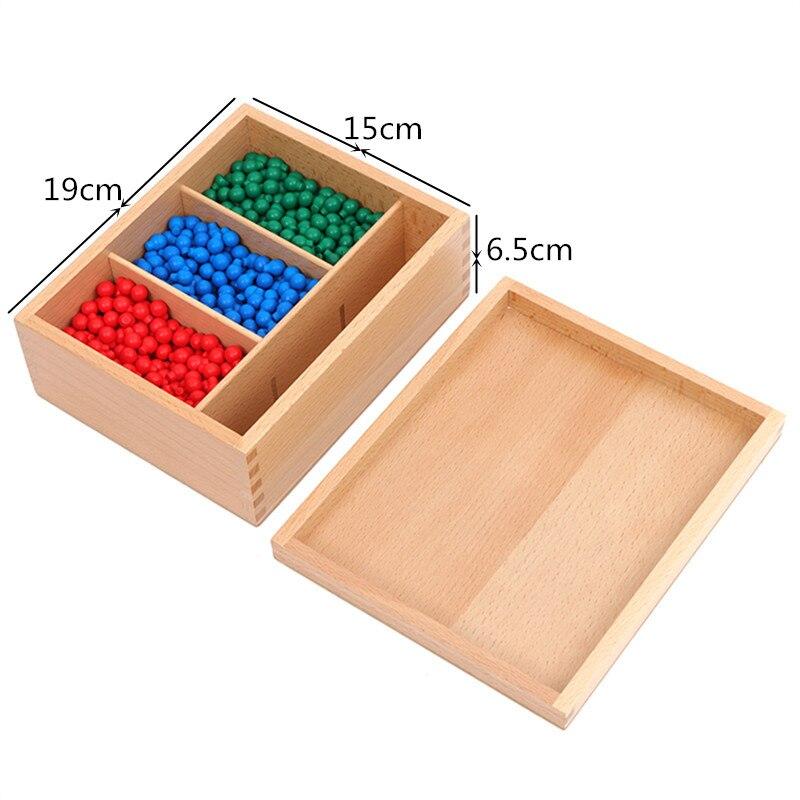 Preskool Montessori Éducation des Enfants Jouets Pour Enfants En Bois Peg Conseil Ensemble Mathématiques Jouet Formation Jeu Brinquedos Juguets - 4