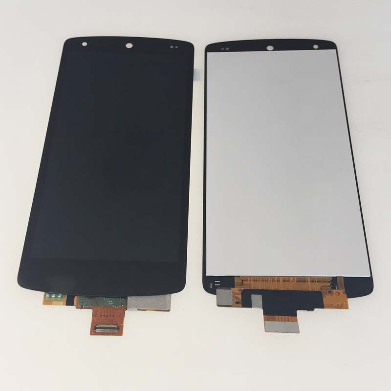 ФОТО New Black Full LCD+ Touch Srceen Digitizer Glass Assembly For LG Nexus 5 D820 D821