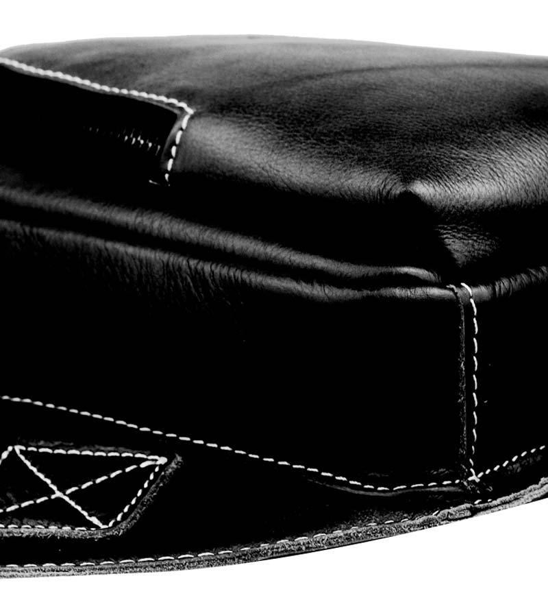 BULL CAPTAIN Bat Chest Bag Genuine Leather Men Shoulder Bag Casual Crossbody Bag