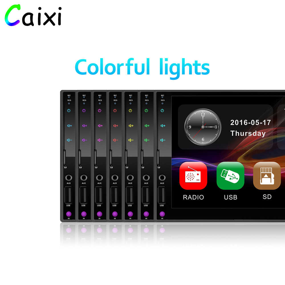 "Caixi 2 din Auto Multimedia Speler Stereo 7 ""Touch Screen Video MP5 Speler Auto Radio Spiegel Link Voor Android en Iphone WIFI DVR"