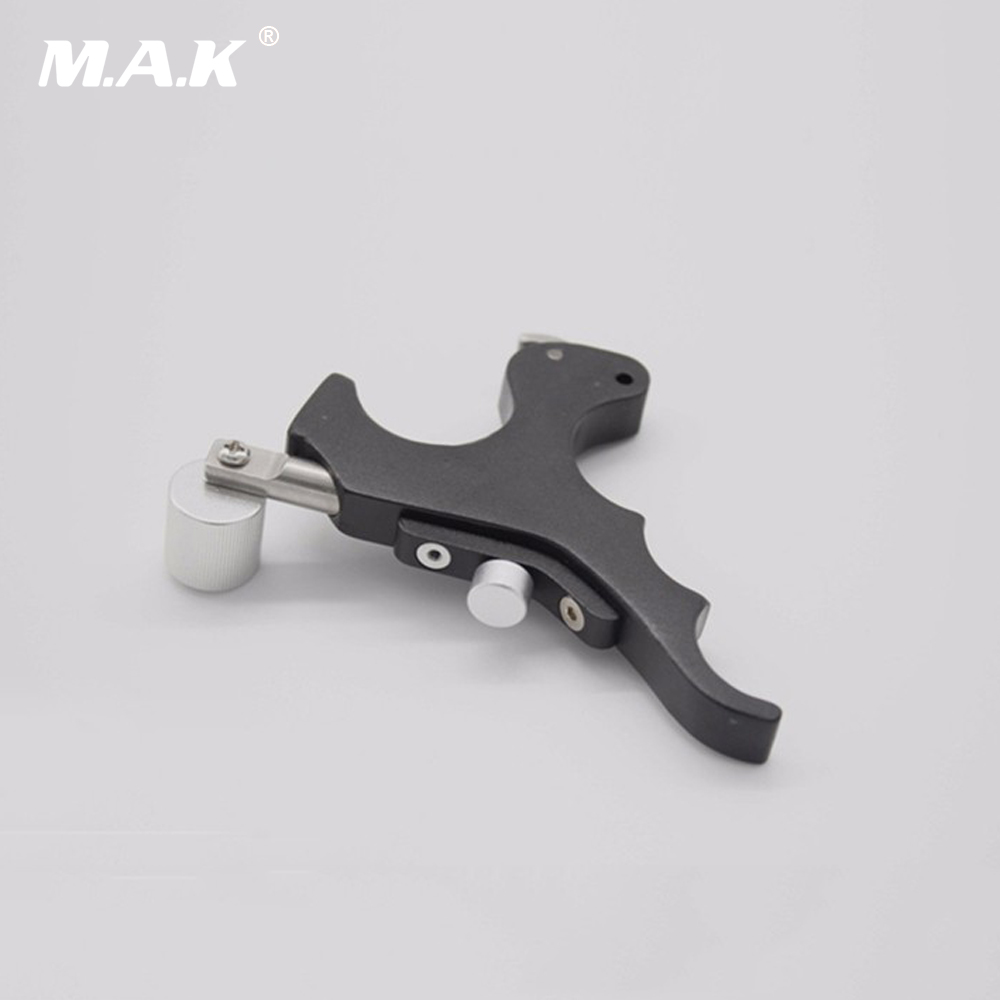 New Style Black Stainless Steel Archery Caliper Release Archery with Box for Compound Bow Hunting Accessory allen company exacta xx archery buckle release