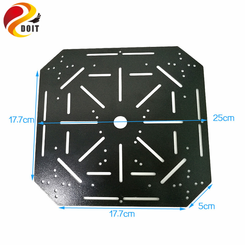 25*17.7cm High Hardness Steel Panel Tank Frame Chassis Plate Metal Chassis Robotic Car Remote Platform 25*17cm Diy Toy Parts 2019 New Fashion Style Online