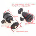 Tripod Heads Mini Ball Head for DSLR Camera Camcorder Light Bracket Swivel S26 Tripod Ballhead