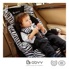 цена на ABYY Abbe child safety seat baby car with 9 months-12 years of age 3C certification