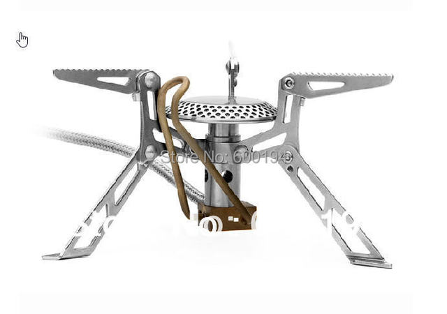 Fire-Maple FMS-118 high altitude split outdoor camping stove / gas stove with a preheat tube