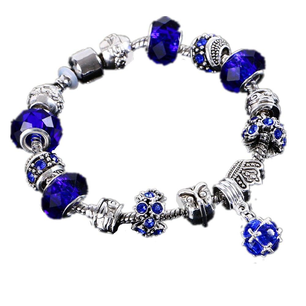 buy hot fashion crystal charm bracelet. Black Bedroom Furniture Sets. Home Design Ideas