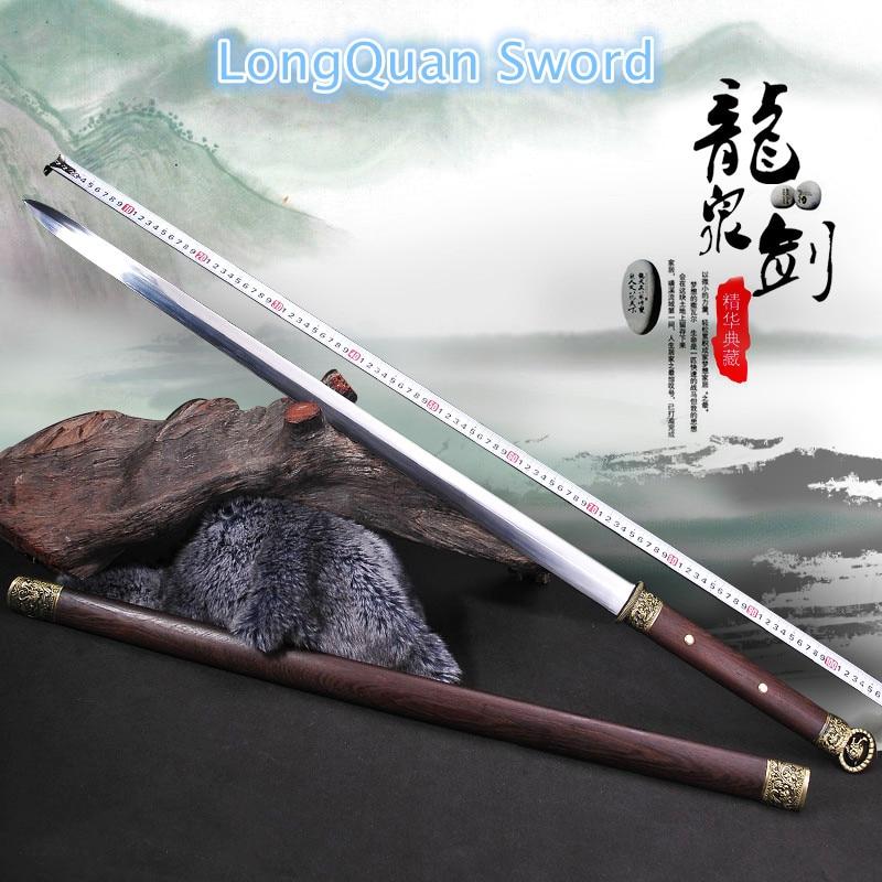 Long Quan məşhur qılınclar fərdi sənətkarlıq - Ev dekoru - Fotoqrafiya 2