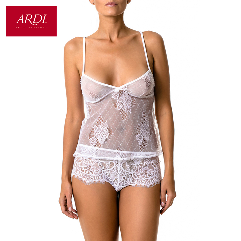 Woman's Pyjamas for women set from top and shorts with lace ARDI R2531-50