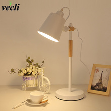 Modern Led Desk lamp adjustable Table Lamp for study office reading bedroom bedside E27 Eye Protection reading lighting недорого