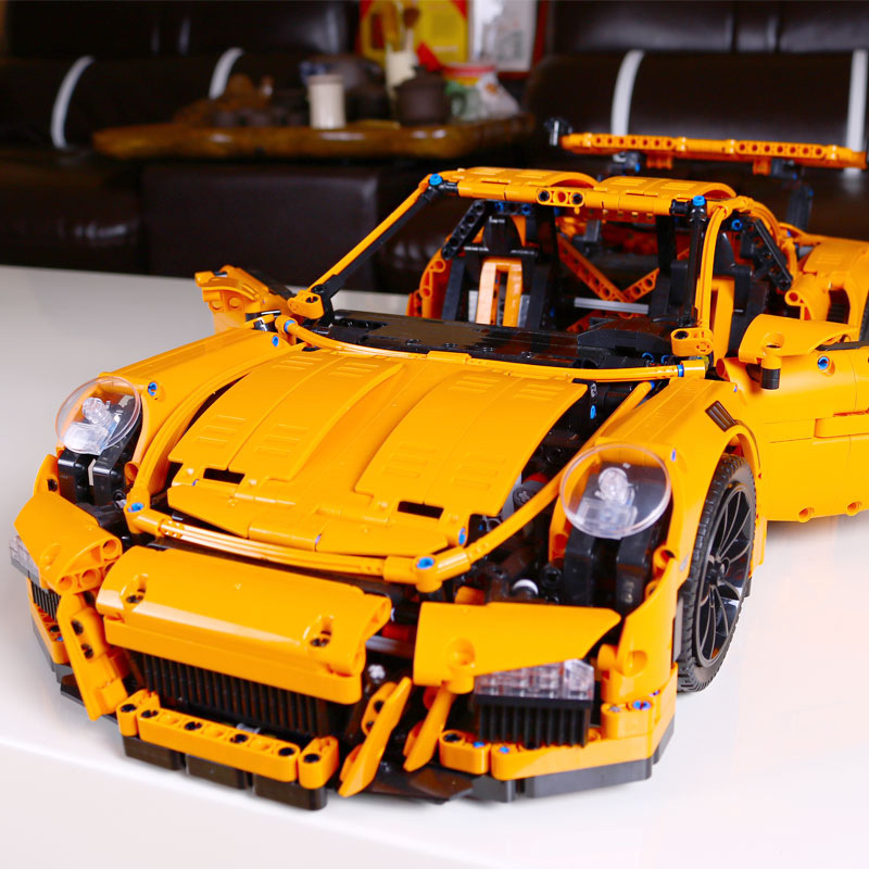 2758pcs Lepin 20001 20001B Technic Series DIY Model Building Kits Blocks Bricks Compatible With 42056 Boy's Toy Educational Gift lepin 20001 technic series 911 model building kits blocks bricks boy toys funny educational children gifts compatible with 42056