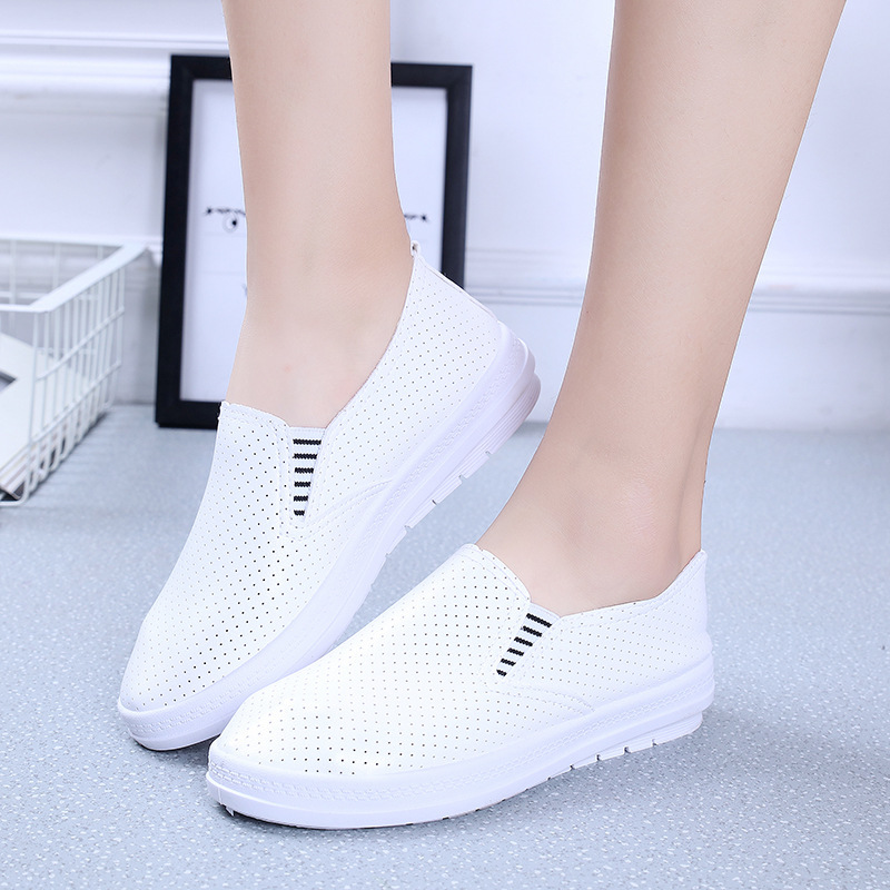 Hot Sale Fashion Women White Canvas Shoes Concise Low Top Casual Flat Student Shoes Lace Up Solid Canvas Walking Women Shoes 633 hot sale 2016 top quality brand shoes for men fashion casual shoes teenagers flat walking shoes high top canvas shoes zatapos