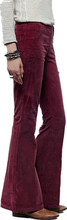 vintage fashion gold velvet wide leg pants female loose casual elastic waist flare pants D427