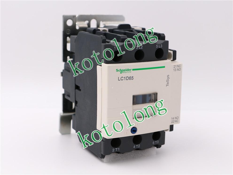 все цены на AC Contactor LC1D65 LC1-D65 LC1D65B7 24V LC1D65D7 42V LC1D65E7 48V LC1D65F7 110V онлайн