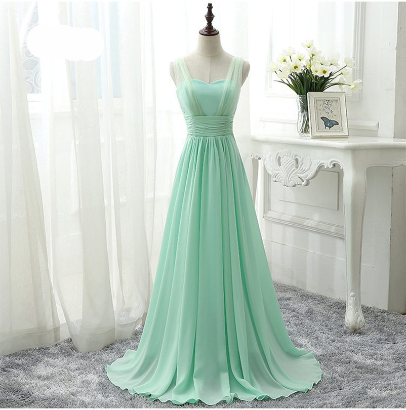 Mint Green Bridesmaids Dress - Wedding Dress Ideas