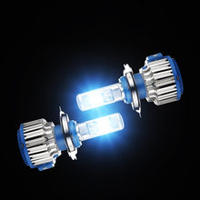2PCS 6000K H4 LED H7 H11 H1 H3 880/881 9005 9006 Auto T1 Car Headlight Bulbs 80W 8000LM Car Styling 9004 9007 9012 H8 H9 H13 led(China)
