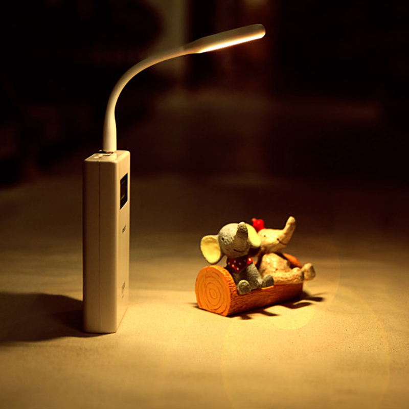 NY Mini USB Power LED-lys 1,2 W ultra lav strømchips Lommekortlampe - Camping og vandreture - Foto 4