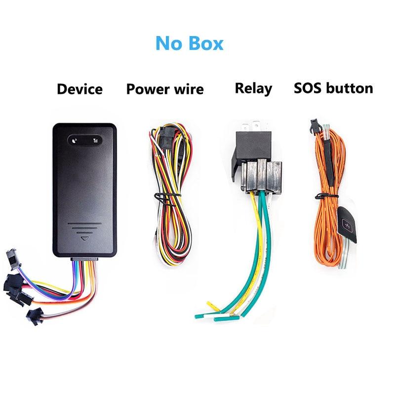 US $30 0 |Goome GM06NW Eingebaute Batterie GSM GPS Tracker Mini Für  Fahrzeug Auto Motorrad Micro Lokalisierung & Schnitt Kraftstoff Öl Locater  in