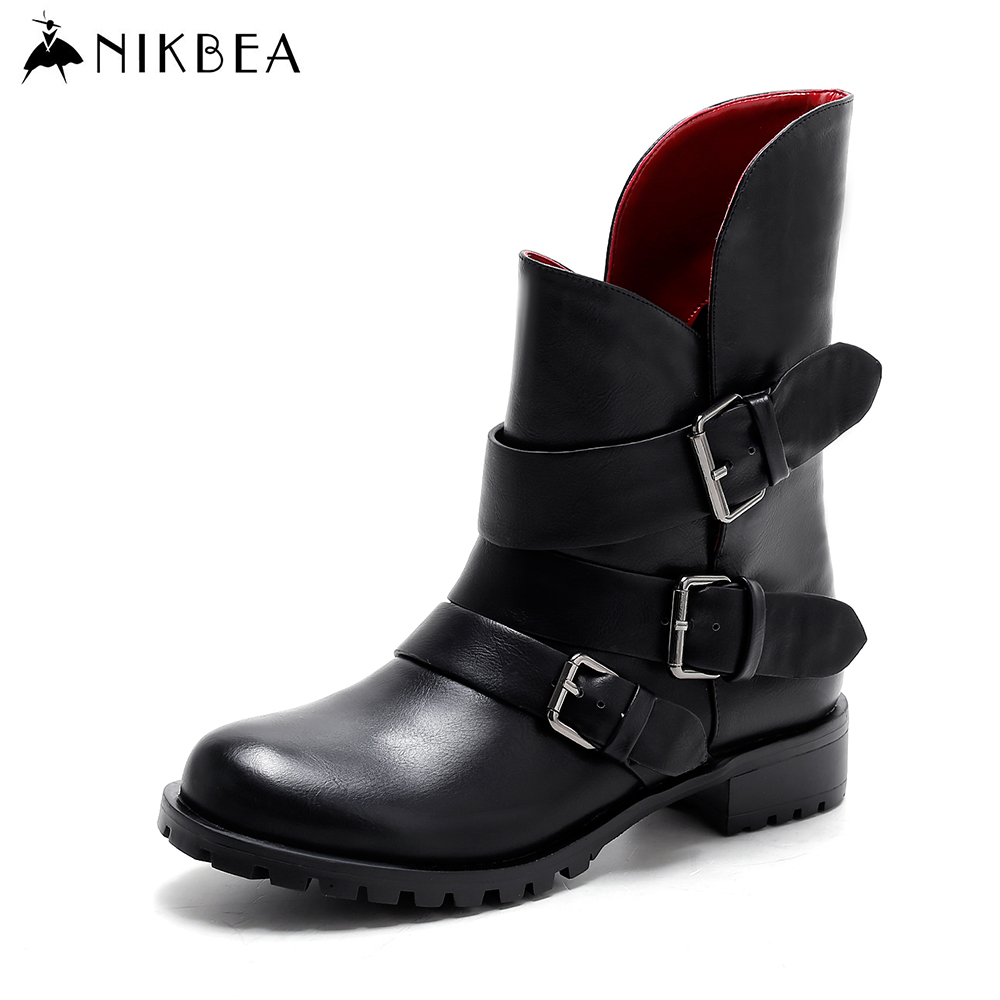 Popular Black Ankle Boots-Buy Cheap Black Ankle Boots lots from