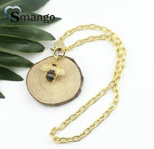 Pop Charms, The Rainbow Series Jewelry ,The Plated Gold Insect Shape Cubic Zirconia Pendant Necklace, Necklace Women 5Pieces