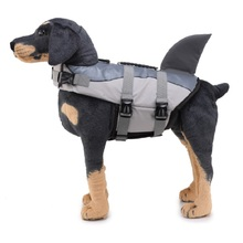 Pet Dog Life Jacket Bones Patterns Safety Clothes Vest Harness Saver Swimming Preserver Summer Swimwer
