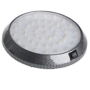 Image 1 - 1 шт. DC12V 46 LED Автомобильный Интерьер Свет Купол крыши Потолок для чтения багажник автомобиля свет лампы автомобиля Стайлинг ночник ABS пластик
