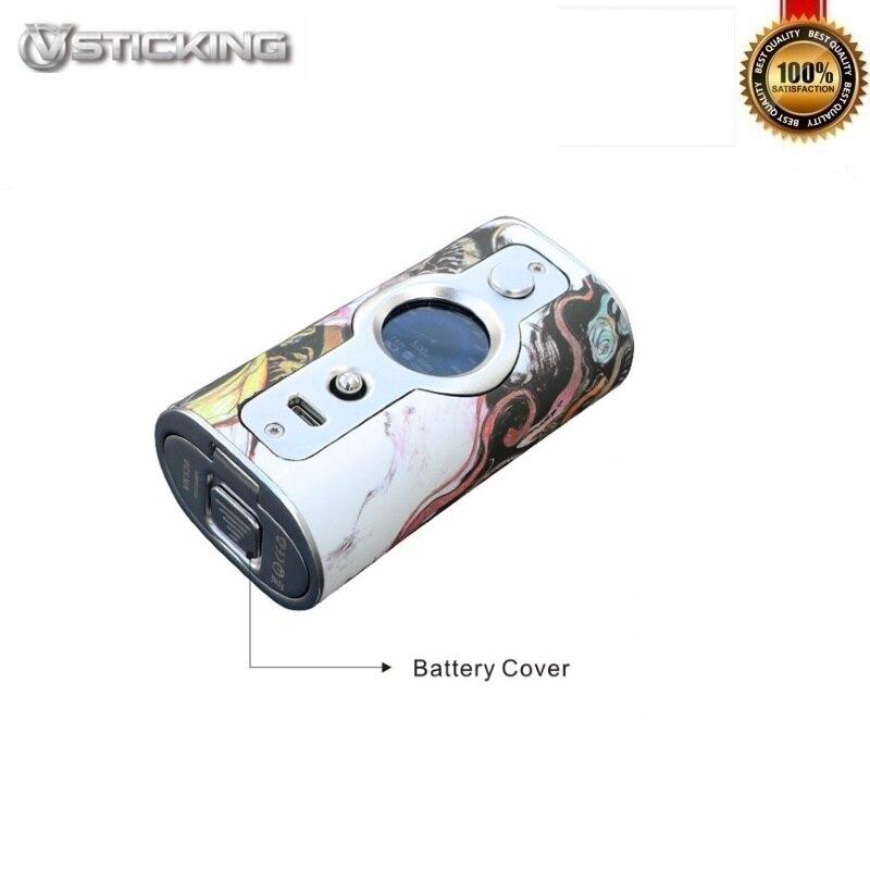 D'origine VSTICKING VK530 Boîte Mod 200 W Alimenté Par Double 18650 Batteries Fit 510 Fil Vaporisateur Réservoir Vaporisateur Anti- sec Combustion Tech - 3