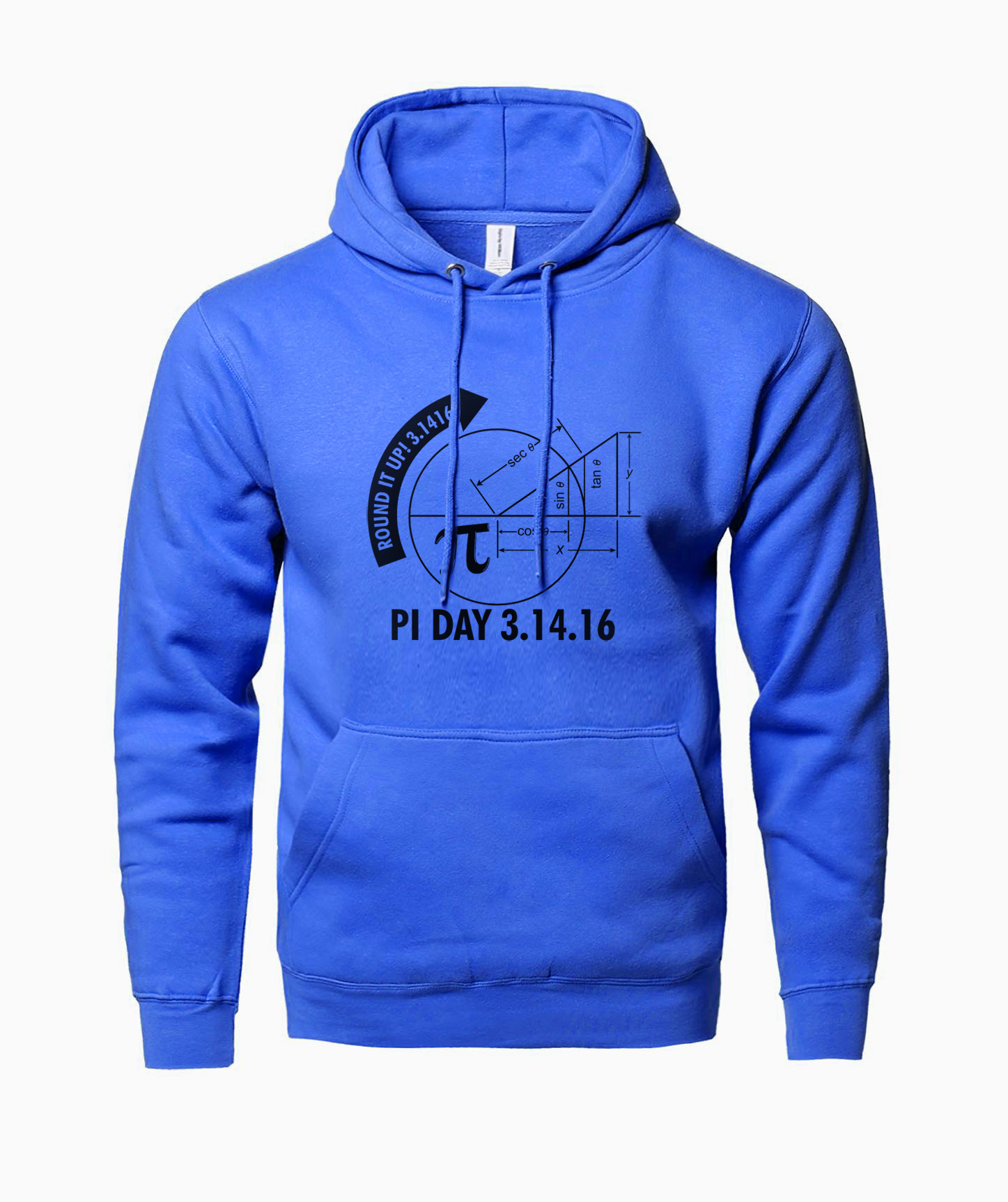 Pi Day 2018 3.1416 Round It Up Math Graph STEM sweatshirt men fashion autumn 2018 male brand clothing hooded mens streetwear mma