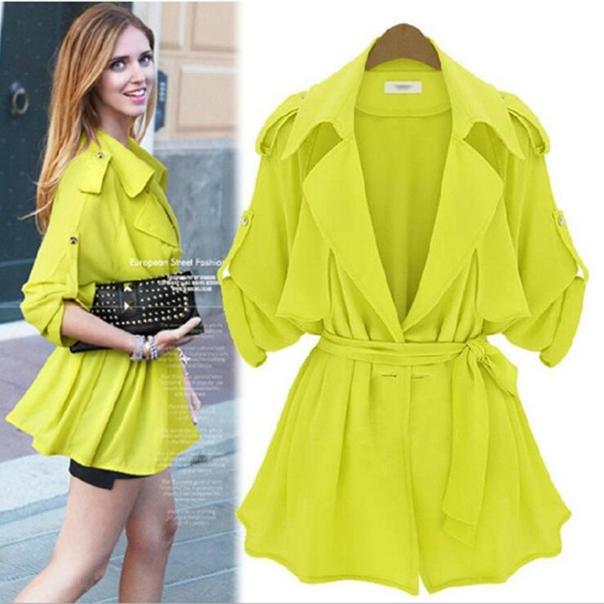 Casual Spring Summer Jacket Women Casacos Top Quality ...