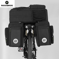 Rockbros Bike Bicycle Bag 48L MTB Bike Rack Bag 3 In 1 Multifunction Road Ciclismo Pannier