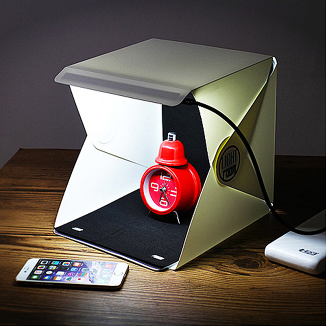 Mini Foldable Lightbox Photo Studio