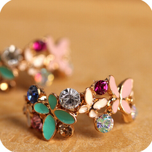 $10 (mix order) Free Shipping Fashion Delicate Irises Earrings For Women R3516 5g