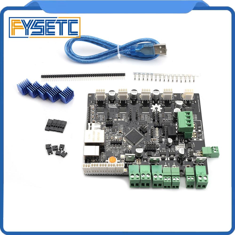 3D Imprimante Planche À LAVER 5XC 5X V1.1 Bras Open Source carte Mère 32 peu LPC1769 Cortex-M3 Control Support Ethernet pour CNC
