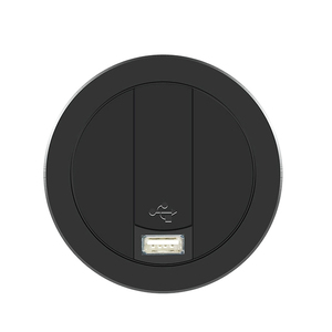 Image 1 - Embed Desktop Fast Wireless Charger Furniture Office Table Desk Mounted Quick Charging Embedded For IPhone X XS Max Samsung S9 8