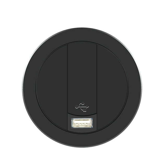 Embed Desktop Fast Wireless Charger Furniture Office Table Desk Mounted Quick Charging Embedded For IPhone X XS Max Samsung S9 8