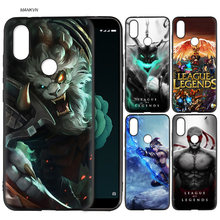 Lol League of Legends S2 A1 A2 Lite Capa de Silicone para Xiaomi Redmi Nota 5 Plus 6 6A 4 4X pro Poco F1 Pocophone 5X 6X Capa Mole(China)
