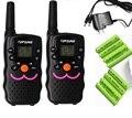 2 шт. twin ВТ8 ФРС Walkie Talkie CB радио трансивер hf 1 Вт long range woki токи любитель UHF 2 способ радио с зарядным устройством батареи