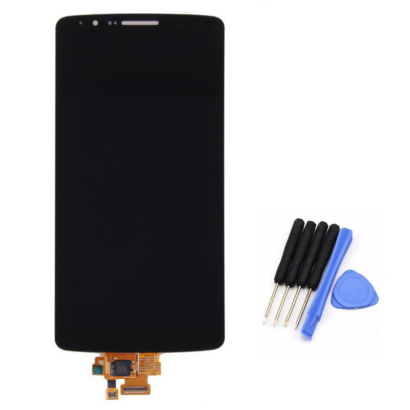 ФОТО High quality  For LG G3 D855 D850 LCD Display Touch Screen Digitizer Assembly replacement black free shipping!!!