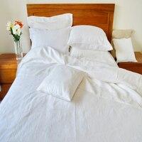 Мыть французский чистый лен листов постельное белье лист queen 102 х 108 белье постельное белье King Размеры покрывало серый, белый