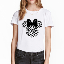 ZOGANKIN Hot Sales Women Cartoon Tshirt Summer Short Sleeve Tops Tee Female White Round Neck Shirts Lady Graphic T-shirt